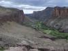 Kanion rzeki Pinturas