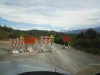 W drodze do Torres - zamknięta droga